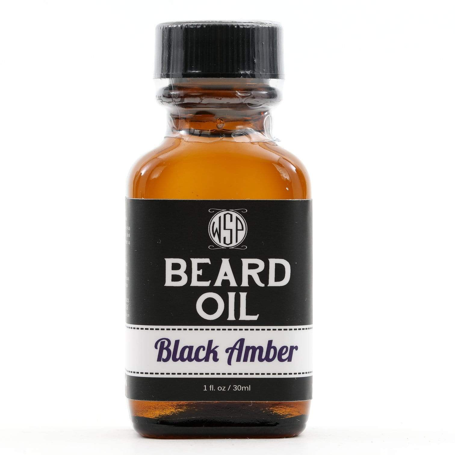 Black Amber Beard Oil 1 oz.
