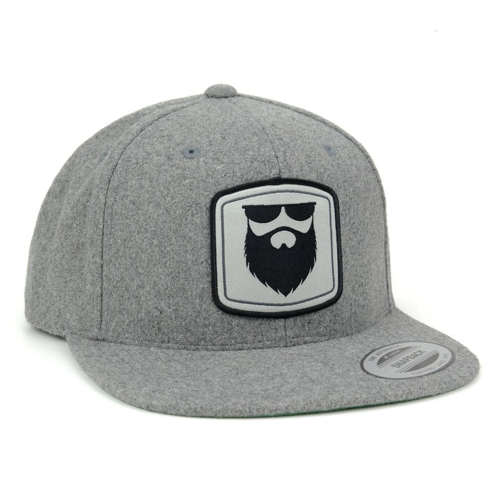 NSL Beard Gear Snapback - Melton Wool *Limited*