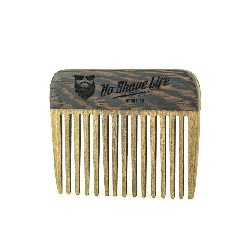 NSL 2Tone Walnut Beard Comb