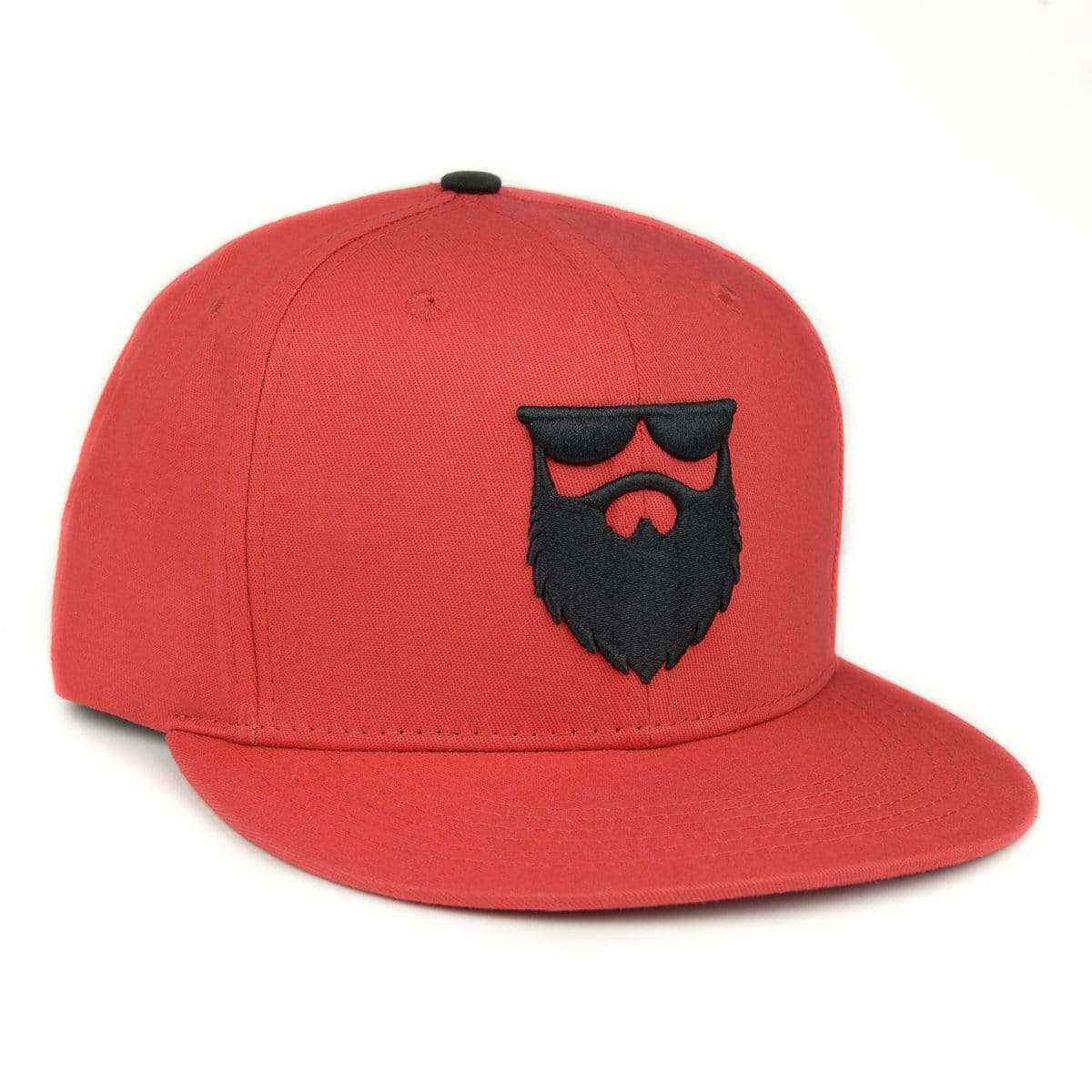 OG Beard Logo Snapback - Red