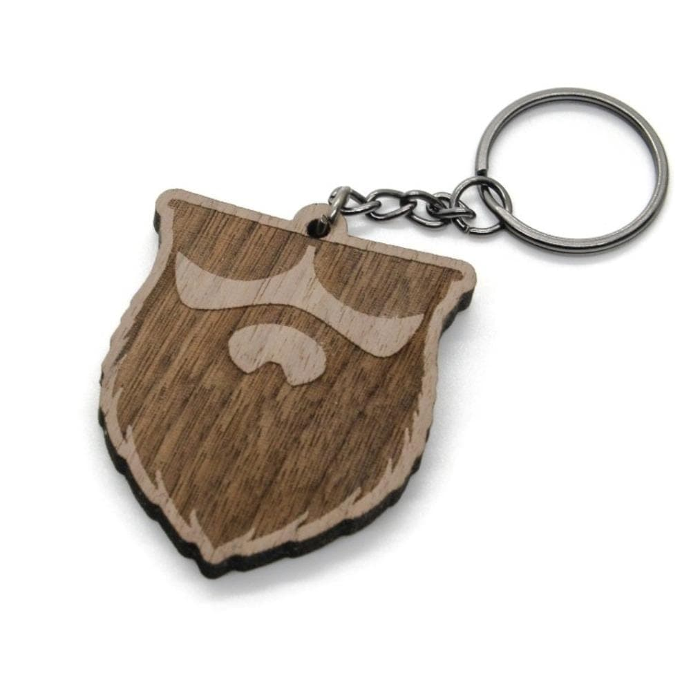 OG Logo Walnut Wood Keychain