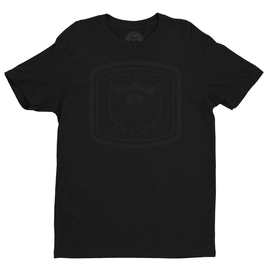 THE OG BEARD 2.0 Black/Black Men's TShirt