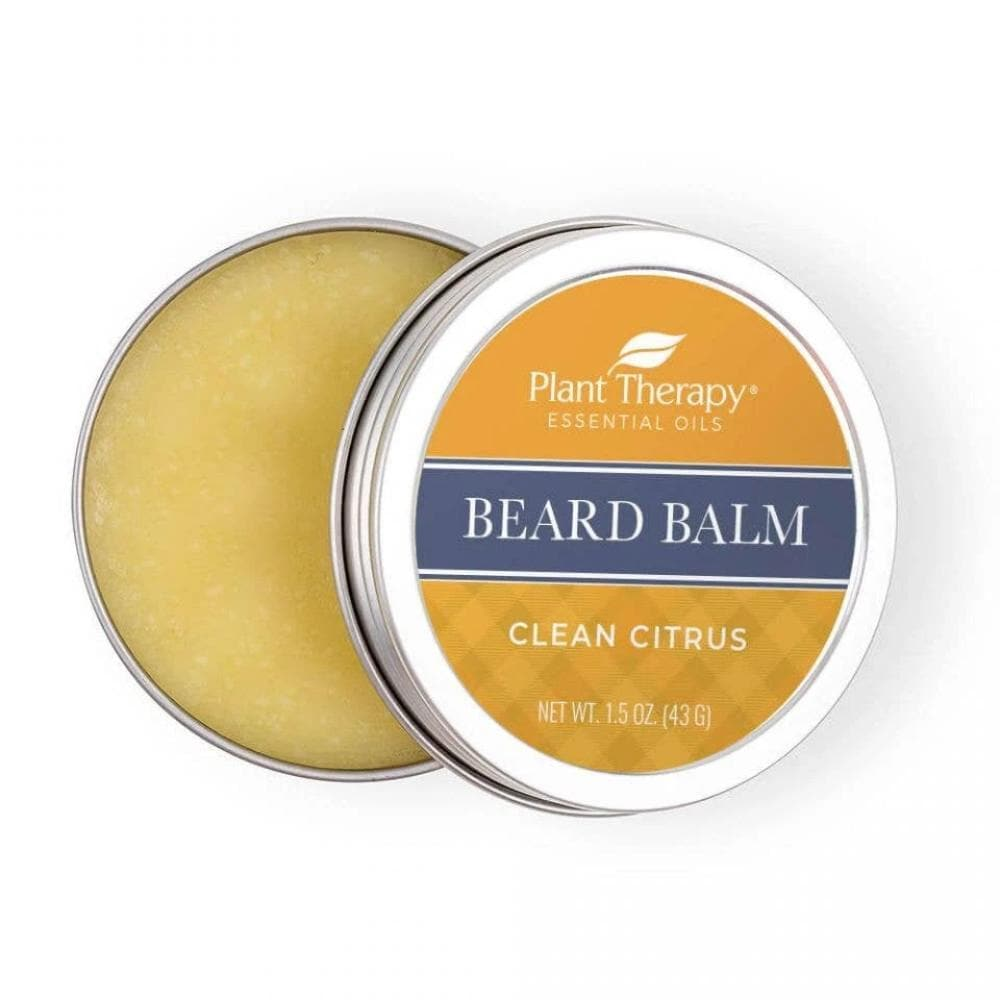 Plant Therapy Clean Citrus Beard Balm 1.5 oz.