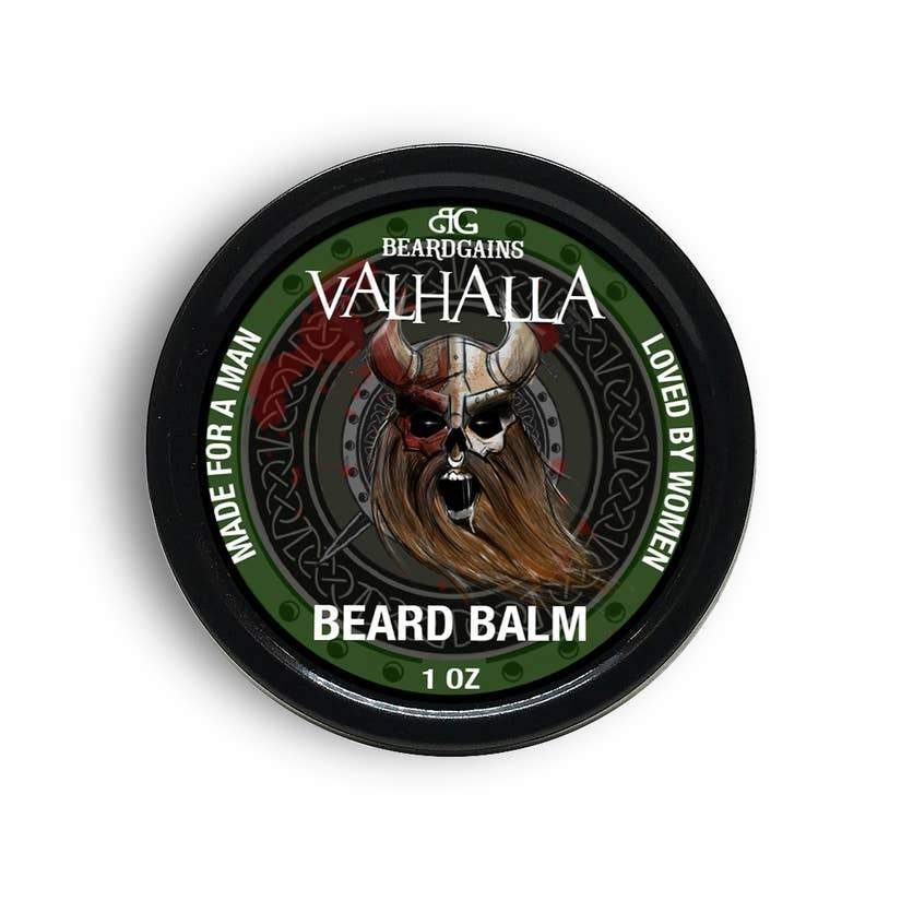 Beard Gains Valhalla Beard Balm 1 oz.