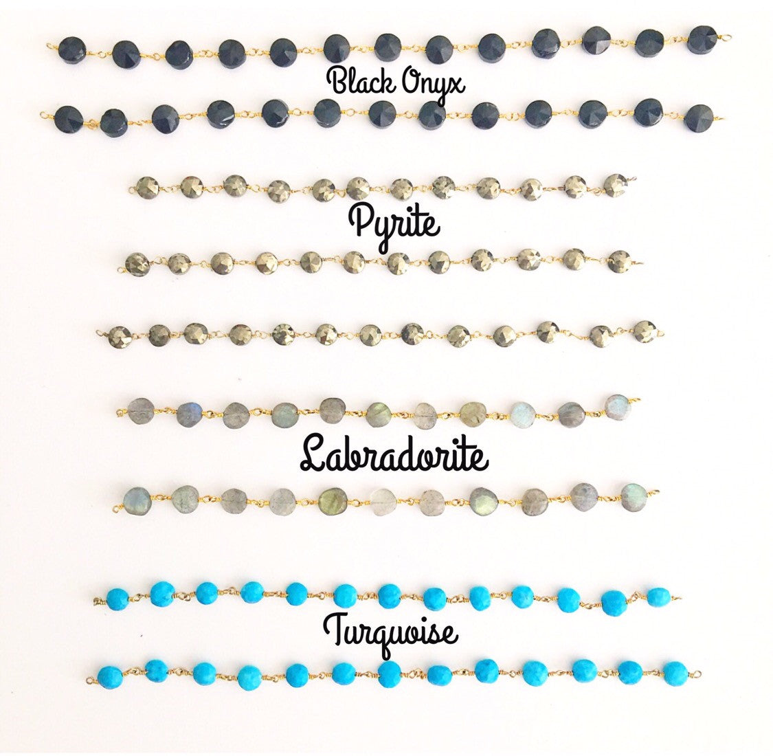 Gemstone Coin Chokers