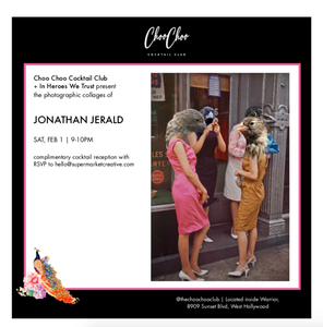 IHWT + Choo Choo Cocktail Club present Jonathan Jerald Saturday, February 1st