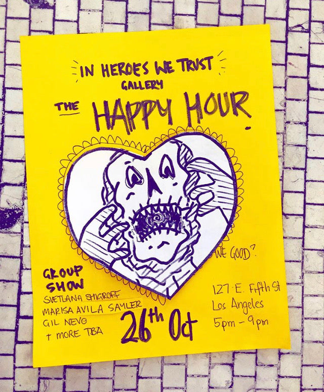 The Happy Hour Show Starring Svetlana Shigroff - Sat., October 26th, 5-9pm