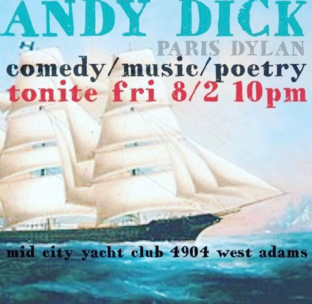 IHWT presents Andy Dick at Mid City Yatch Club, West Adams
