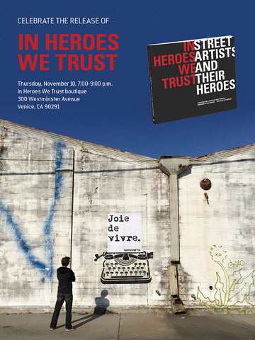 In Heroes We Trust x Knock Knock Book Launch Party