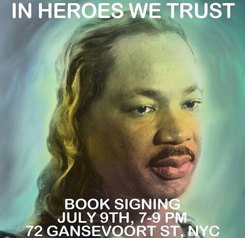 In Heroes We Trust x Ron English Book Signing at Gansevoort Gallery NYC