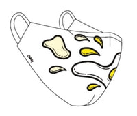 "ONCH Custom Print ""Egg On Your Face"" Print Cotton Mask"