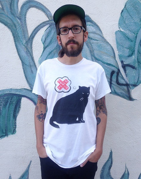 "Teachr ""Teach Peace Cat"" Unisex Tee"