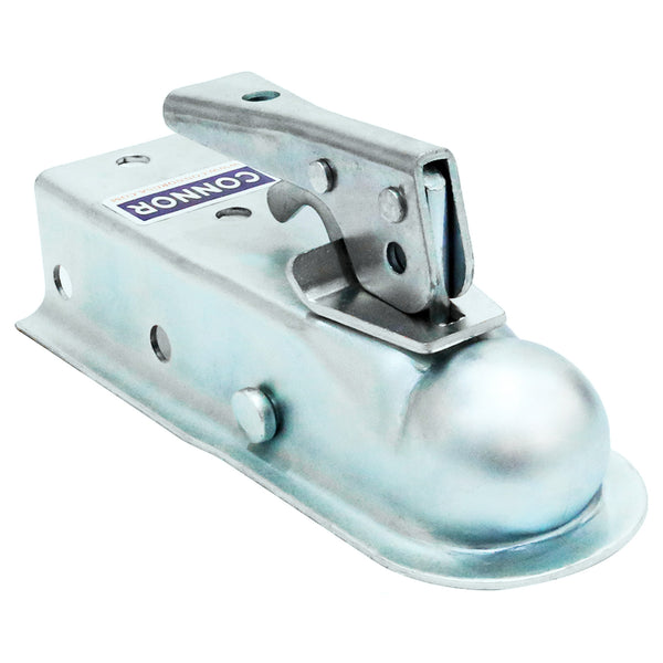 "Connor Towing Trailer Coupler 1617100- 1-7/8"" Ball, 2"" Width, Trailer Tongue, Boat Trailer Coupler"