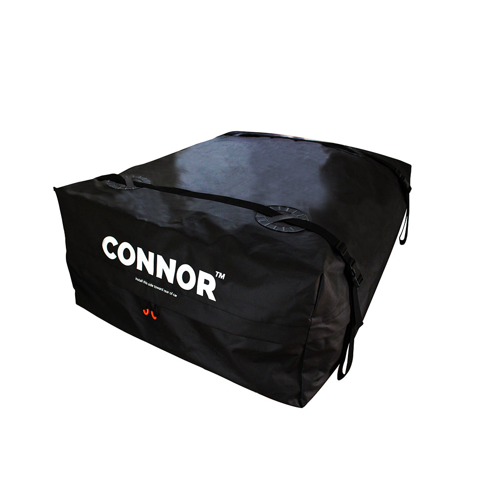 Connor 1619200 Roof Top Cargo Bag for Roof Racks - 15 Cubic Ft. Waterproof Carrier Bag,  Comes with Rooftop Protective Mat