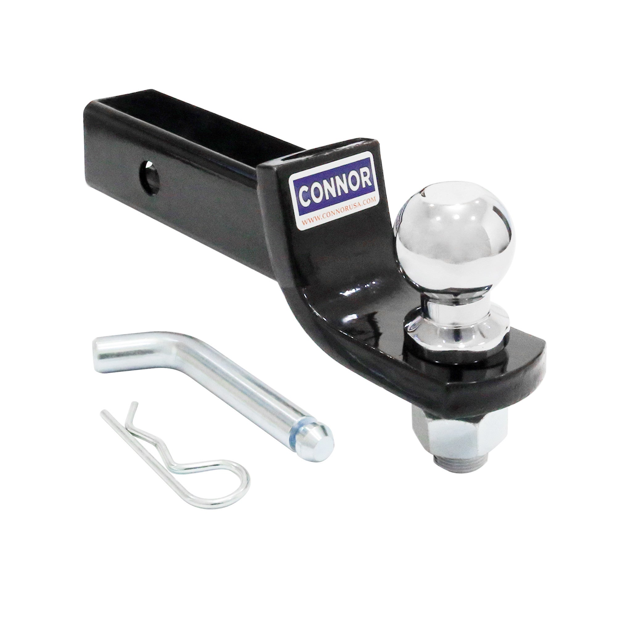 Connor Ball Mount Kit With 2 Ball 5 000 Lb Gtw 2 Drop 3 4 Rise Connor Usa Towing