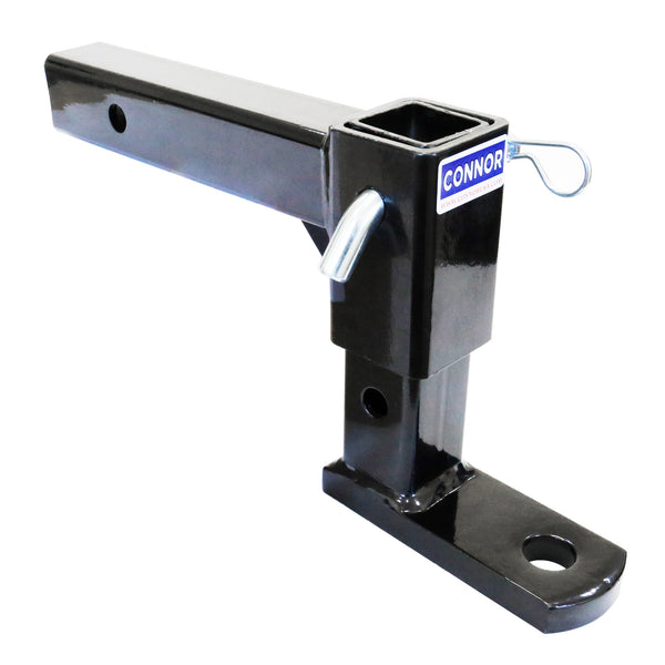 "Connor Towing Adjustable Trailer Hitch 1625200- 2"" Ball Hitch (GTW-5000 lb.), Ball Mount, Tow Hitch"