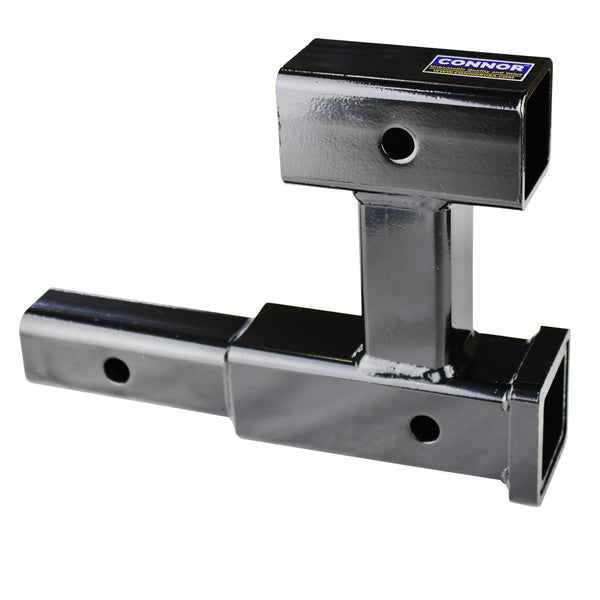 "Connor Towing Hitch Extender 1625370- High Clearance 2"" Dual Hitch Extension (GTW- 4000 lb.), Trailer Hitch Extension"