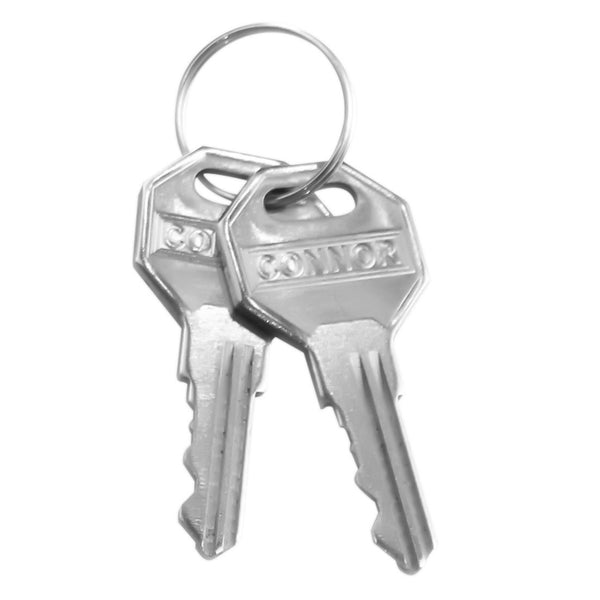 Keys for Connor Heavy Duty Stainless Steel Receiver Locks 1615270, 1615280, 1615290, 1615300