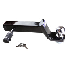"Connor Trailer Hitch Lock 1615190- Black Nickel 5/8"" for Class III, IV, V, Hitch Pin, Hitch Receiver Lock"