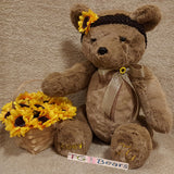 Flower girl favor bear