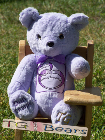 Hearts of Epilepsy Foundation Murrah Bear