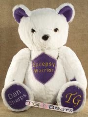 Victor Bear - epilepsy warrior