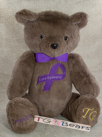 Ale | Handmade teddy bear that raises Epilepsy awareness