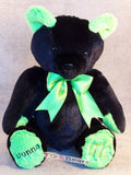 Bethany Bear with black fur.