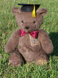 Custom handmade teddy bears for school graduates
