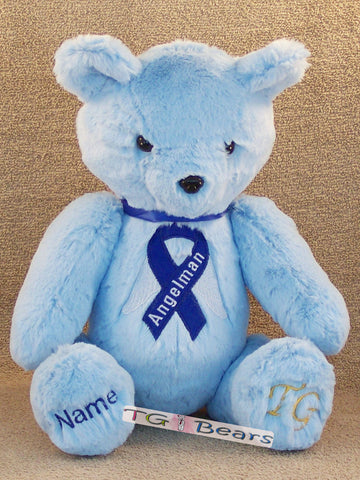 Harry Bear raising Angelman Syndrome Awareness