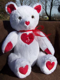 Romantic Juliet Bear can be personalized with a monogram