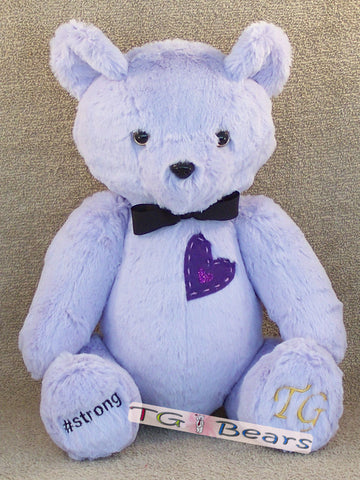 Life Bear with a Purple Heart