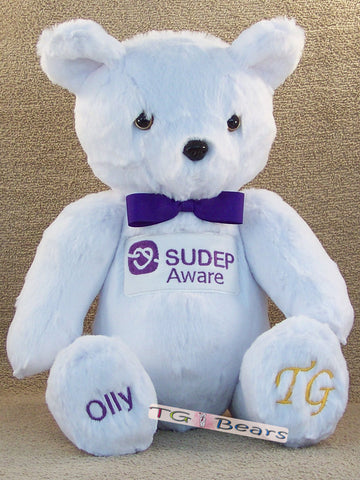 Olly Bear with a Bow-Tie