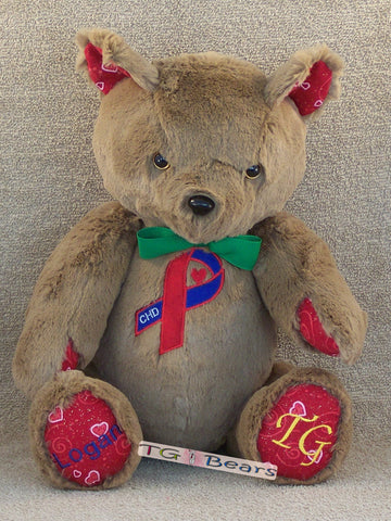 Peter | Handmade teddy bear to raise CHD Awareness