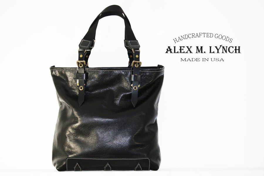 SOFT LEATHER TOTE BAG #010072