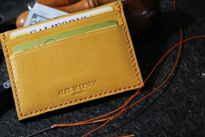 Slim Leather card holder 010108