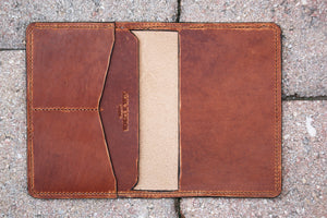 Passport holder - Horween Dublin Leather - 010117