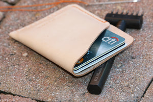 Slim Leather card holder - 010119