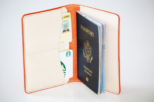 Italian Leather Passport wallet -010127