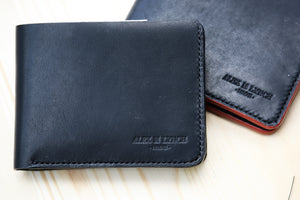 Leather wallet  HORWEEN Veg tanned Leather - 010129