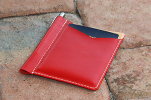 Passport sleeve - Italian Buttero leather - 010132