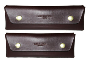 Leather pencil case - 010134