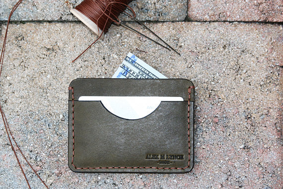 SLIM CARD HOLDER - WICKETT & CRAIG - 010110