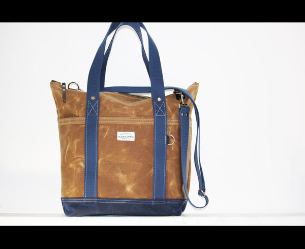 ZIPPERED TOTE BAG #010037.2