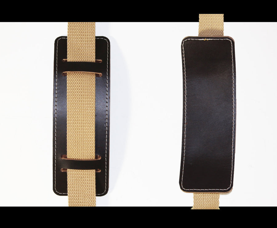 LEATHER SHOULDER STRAP PAD