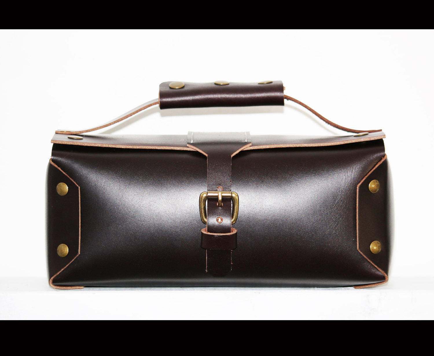 82f09414ac LEATHER TOILETRY BAG DOPP KIT. Product image 1 ...