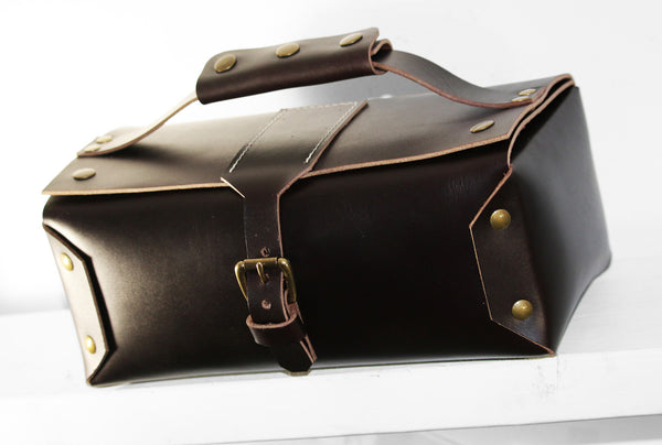 LEATHER TOILETRY BAG DOPP KIT