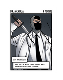 Dr. McNinja: The Oversized Card