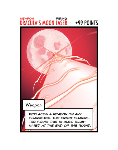 Dracula's Moon Laser: The Oversized Card