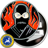 Dan McNinja Challenge Coin - EU Friendly
